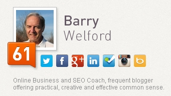 klout barry welford